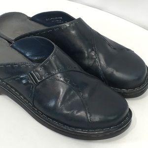 Clarks Mule Slides Clogs Shoes Navy Blue 11 M
